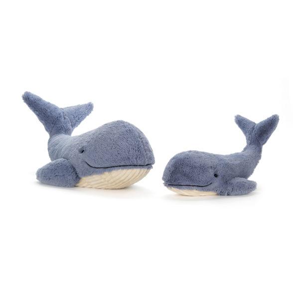 Jellycat Kuscheltier Wilbur Whale 13 cm 02