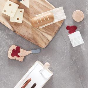 Kids Concept Toaster mit Zubehör von oben