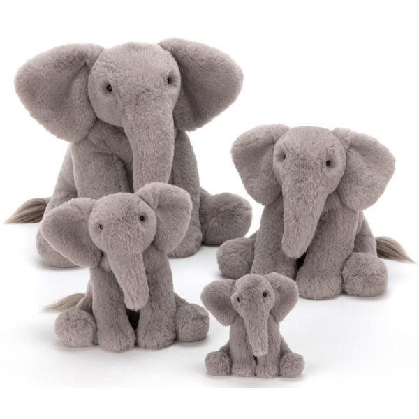 Jellycat Kuscheltier Emile Elephant in 4 Größen