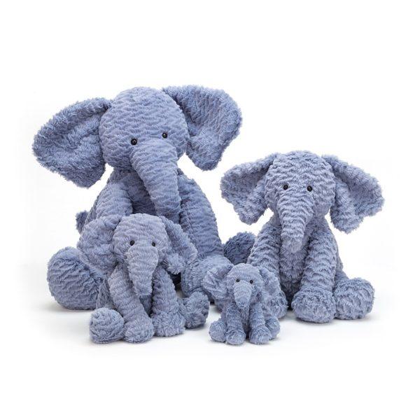 Jellycat Kuscheltier Fuddlewuddle Elephant in 4 Größen