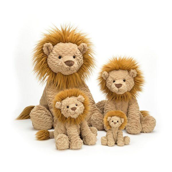 Jellycat Kuscheltier Fuddlewuddle Lion in 4 Größen