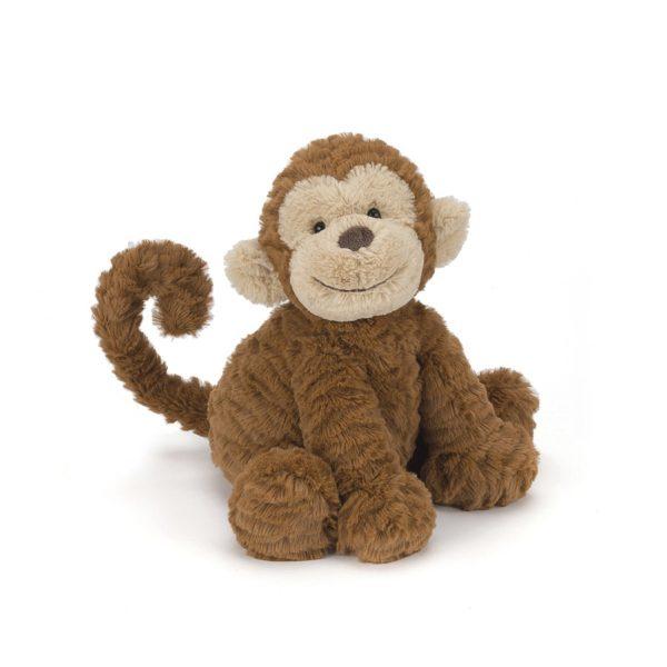Jellycat Kuscheltier Fuddlewuddle Monkey 23 cm (medium) 1