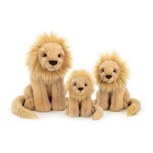 Jellycat Kuscheltier Leonardo Lion (19cm : small) alle Größen