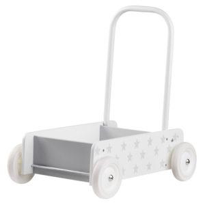 Kids Concept Lauflernwagen Star weiß grau