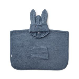 Liewood Badeponcho Rabbit blue wave