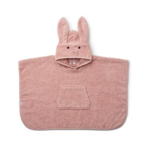 Liewood Badeponcho Rabbit rose