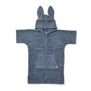 Liewood Lela Bademantel Rabbit blue wave
