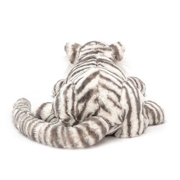 Jellycat Kuscheltier Snow Tiger (46cm : large) hinten