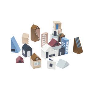 Kids Concept Holzklötze Stadt Aiden alle Steine