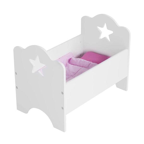 Kids Concept Puppenbett Star weiß