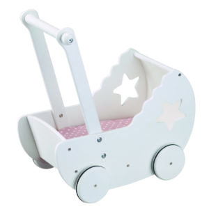 Kids Concept Puppenwagen Star weiß