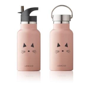 "Liewood Anker Trinkflasche ""Cat rose"""
