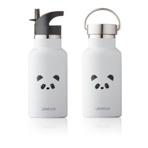 """Liewood Anker Trinkflasche """"Panda light grey"""""""