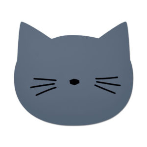 "Liewood Aura Silikon-Tischset ""Cat blue wave"""