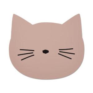 """Liewood Aura Silikon-Tischset """"Cat rose"""""""