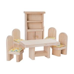 PlanToys Badezimmer Esszimmer Puppenhausmöbel-Set