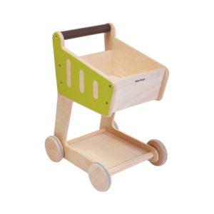 PlanToys Einkaufswagen aus Holz