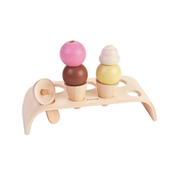 PlanToys Eiscreme-Set aus Holz