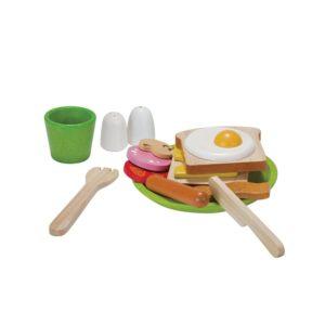 PlanToys Frühstücksmenü