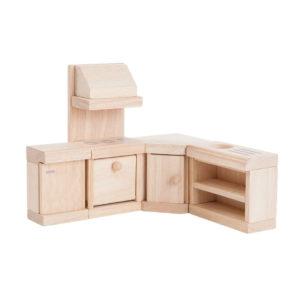 PlanToys Küche Classic Puppenhausmöbel-Set