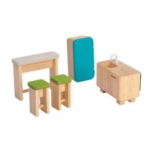 PlanToys Küchen Puppenhausmöbel-Set