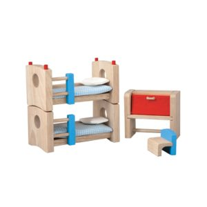 PlanToys Kinderzimmer Neo Puppenhausmöbel-Set