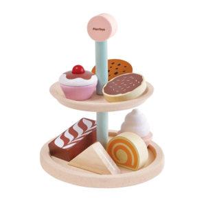 PlanToys Kuchenständer-Set aus Holz