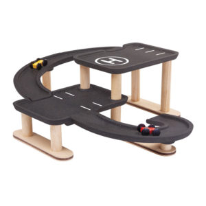 PlanToys Parkhaus Race N Play