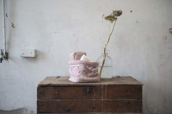 koeka Aufbewahrungskorb Vigo old pink, 15x15x18cm Mood