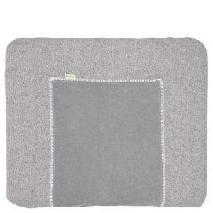 koeka Bezug Vigo sparkle grey für Wickelauflage Basel, 90x78cm