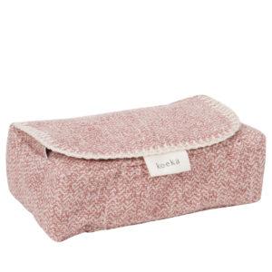 koeka Bezug für Feuchttücher Vigo old pink
