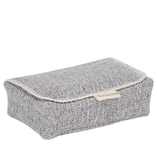 koeka Bezug für Feuchttücher Vigo sparkle grey