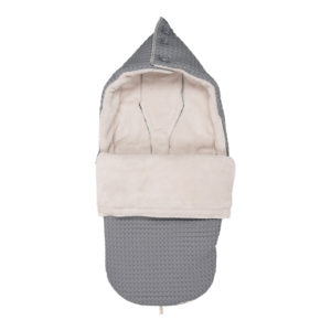 koeka Buggy Fußsack Oslo steel grey : pebble