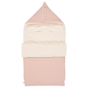 koeka Fußsack Oslo shadow pink : light shadow pink für 3-Punktgurt