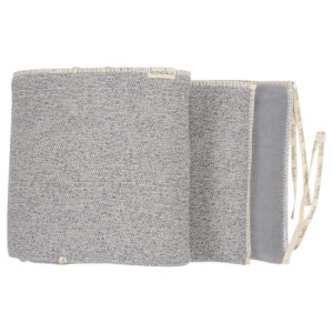 koeka Laufgitternest Vigo sparkle grey, Nestchen 180x30cm