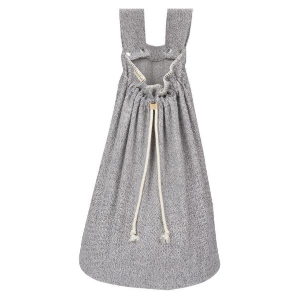 koeka Spielzeugbeutel Vigo sparkle grey, 60x45cm