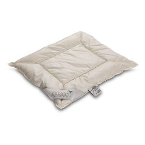 Cocoon flaches Baby Kopfkissen aus Merino Wolle – 40x45cm