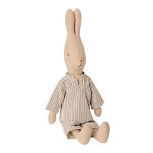 Maileg Hase mit Pyjama, Gr. 2 - 28cm