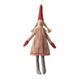 Maileg Kletter Wichtel mit rosa Kleid