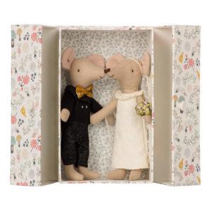 Maileg Mäuse-Brautpaar in Box