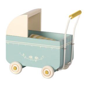 """Maileg Puppenwagen """"Blue"""" MY"""