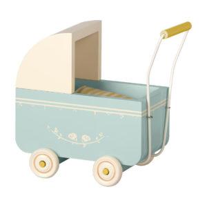 "Maileg Puppenwagen ""Blue"" Micro"