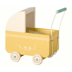 """Maileg Puppenwagen """"Yellow"""" Micro"""
