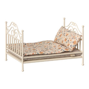 "Maileg Vintage Bett ""Soft Sand"" Micro"