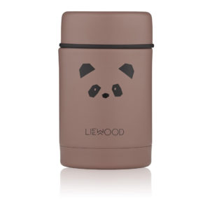 "Liewood Nadja Thermobehälter ""Panda dark rose"""