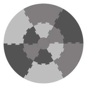 Sebra Spielmatte pigeon grey 1