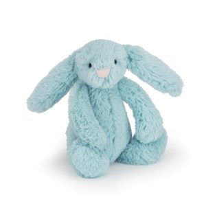 Jellycat Kuscheltier Bashful Aqua Bunny 18 cm (small)