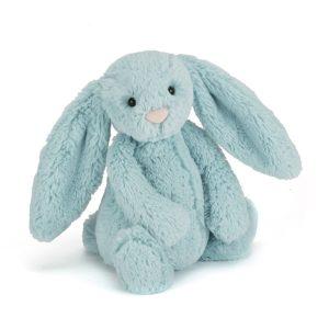 Jellycat Kuscheltier Bashful Aqua Bunny 31 cm (medium)