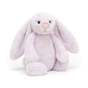 Jellycat Kuscheltier Bashful Lavender Bunny 18 cm (small)