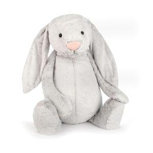 Jellycat Kuscheltier Bashful Silver Bunny 108 cm (really really big)